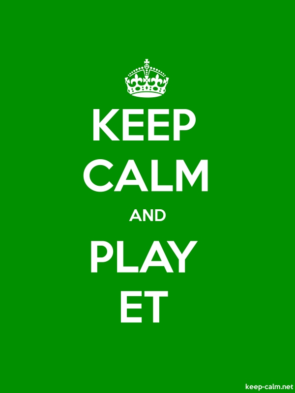 KEEP CALM AND PLAY ET - white/green - Default (600x800)