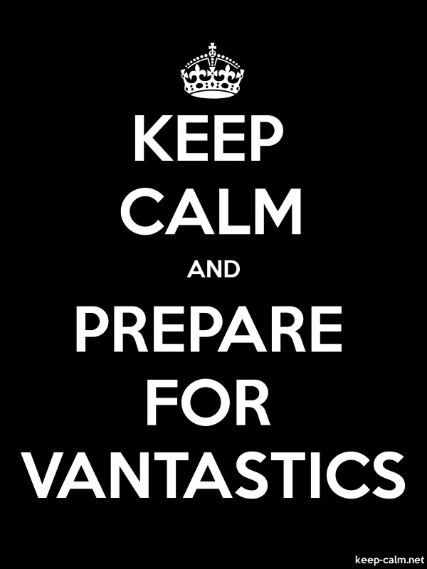 KEEP CALM AND PREPARE FOR VANTASTICS - white/black - Default (600x800)