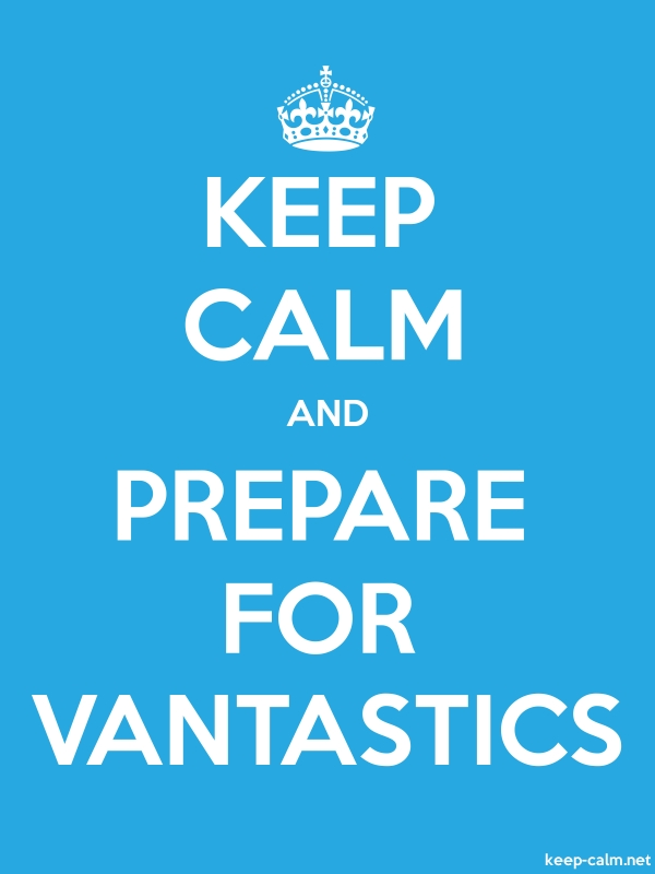 KEEP CALM AND PREPARE FOR VANTASTICS - white/blue - Default (600x800)