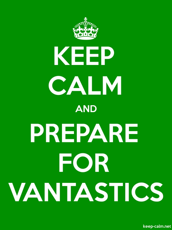 KEEP CALM AND PREPARE FOR VANTASTICS - white/green - Default (600x800)