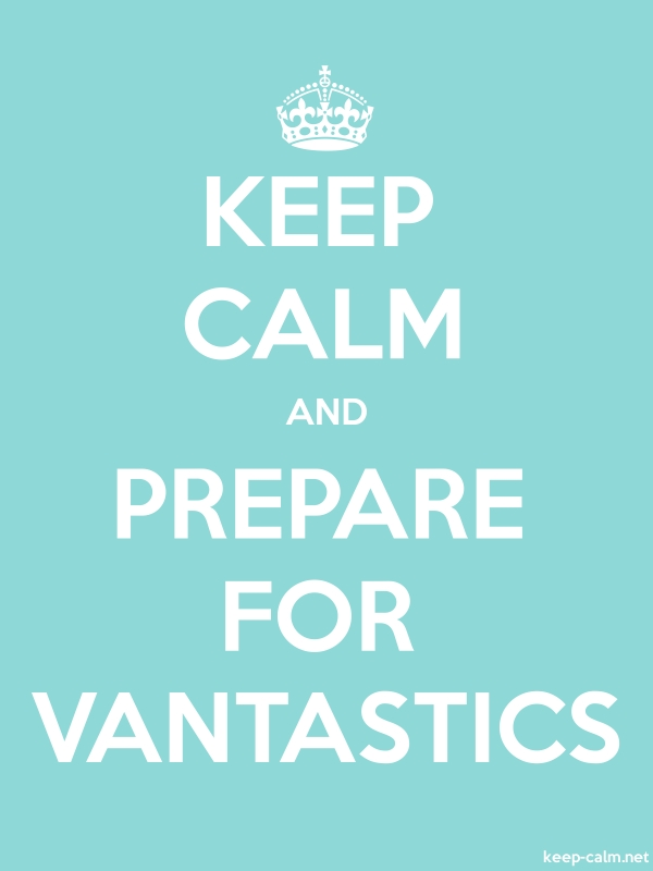 KEEP CALM AND PREPARE FOR VANTASTICS - white/lightblue - Default (600x800)