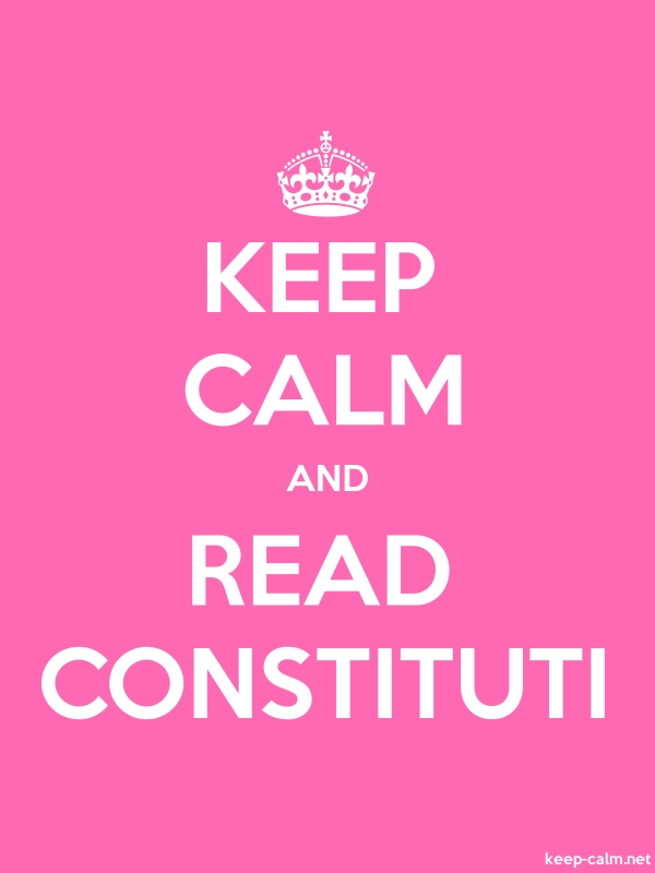 KEEP CALM AND READ CONSTITUTI - white/pink - Default (600x800)