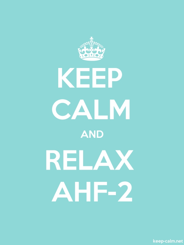 KEEP CALM AND RELAX AHF-2 - white/lightblue - Default (600x800)