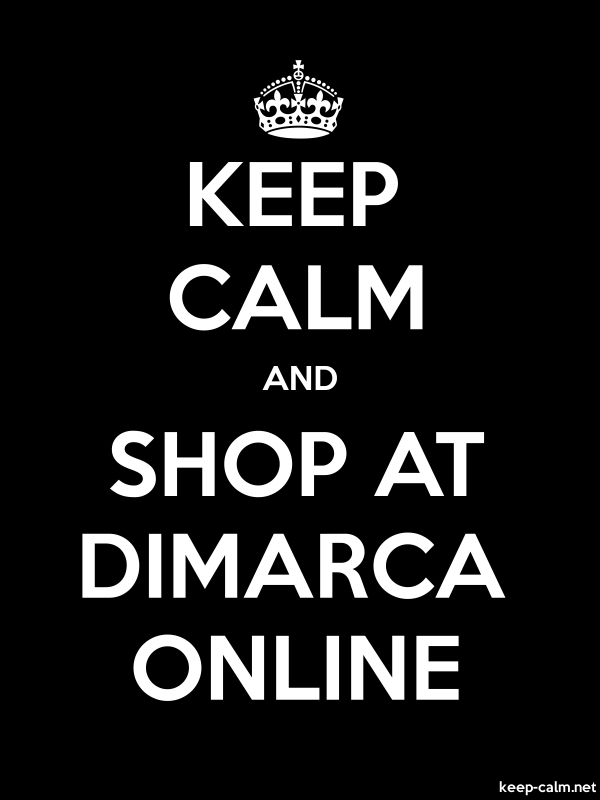 KEEP CALM AND SHOP AT DIMARCA ONLINE - white/black - Default (600x800)