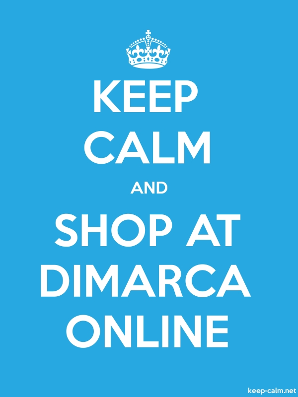 KEEP CALM AND SHOP AT DIMARCA ONLINE - white/blue - Default (600x800)