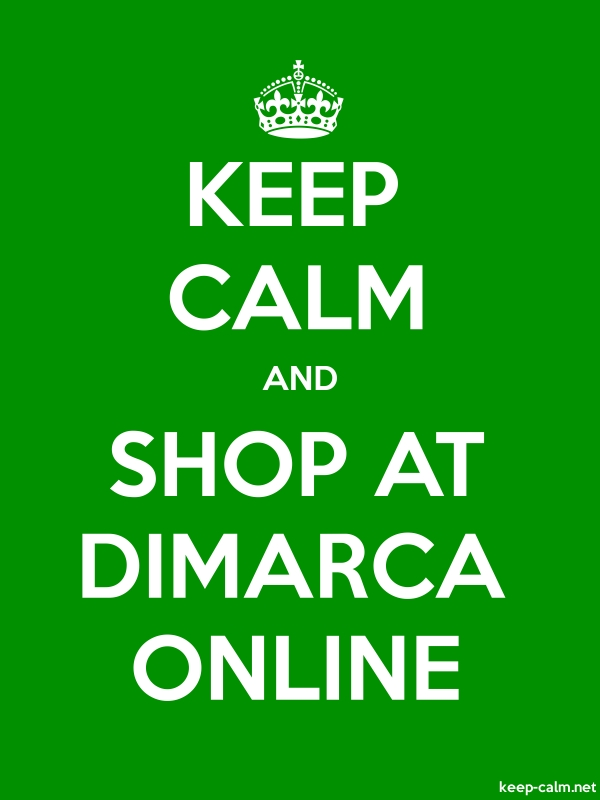 KEEP CALM AND SHOP AT DIMARCA ONLINE - white/green - Default (600x800)