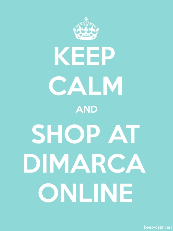 KEEP CALM AND SHOP AT DIMARCA ONLINE - white/lightblue - Default (600x800)
