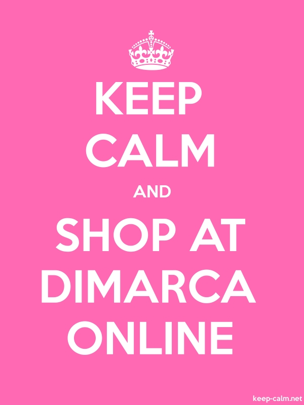 KEEP CALM AND SHOP AT DIMARCA ONLINE - white/pink - Default (600x800)