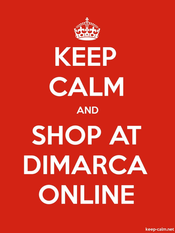 KEEP CALM AND SHOP AT DIMARCA ONLINE - white/red - Default (600x800)