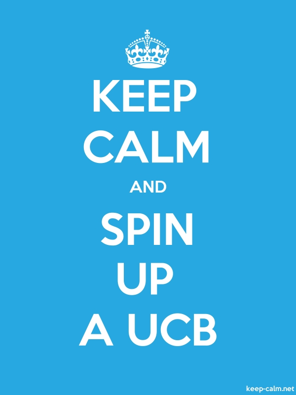 KEEP CALM AND SPIN UP A UCB - white/blue - Default (600x800)