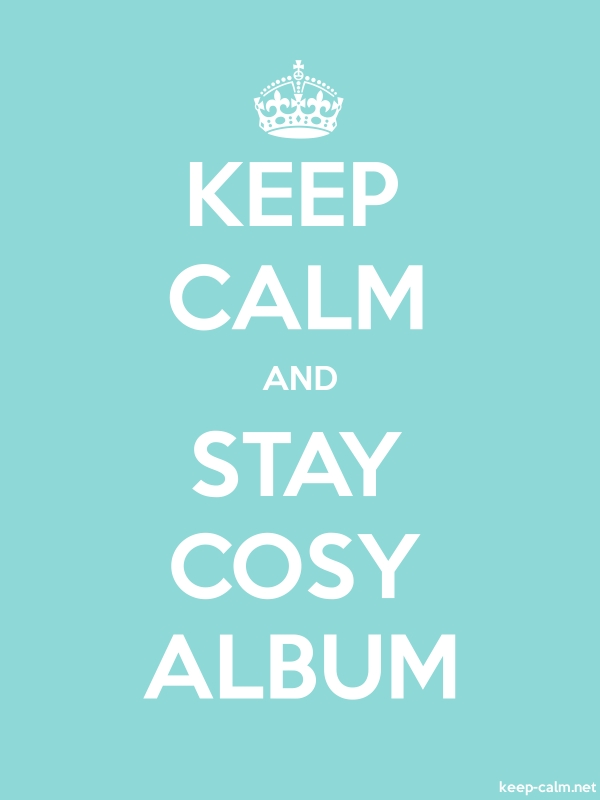 KEEP CALM AND STAY COSY ALBUM - white/lightblue - Default (600x800)