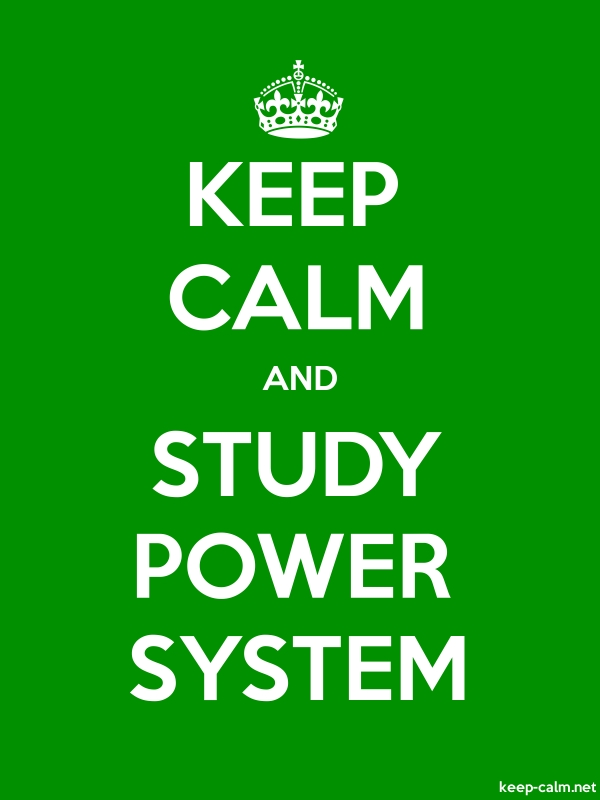 KEEP CALM AND STUDY POWER SYSTEM - white/green - Default (600x800)