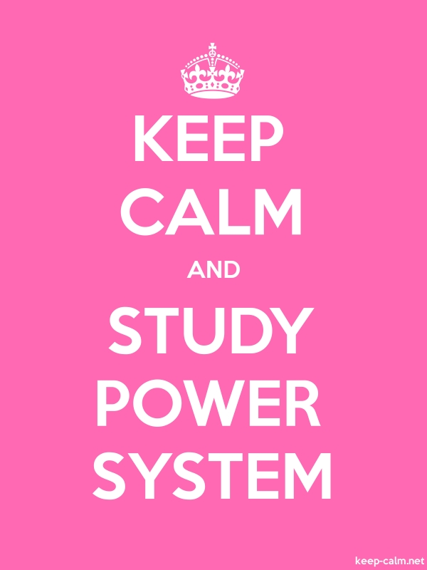 KEEP CALM AND STUDY POWER SYSTEM - white/pink - Default (600x800)