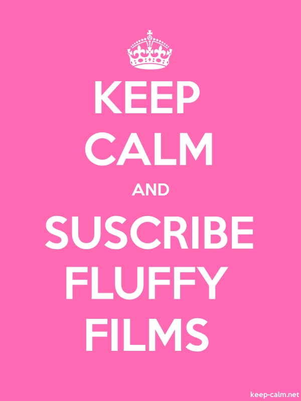 KEEP CALM AND SUSCRIBE FLUFFY FILMS - white/pink - Default (600x800)