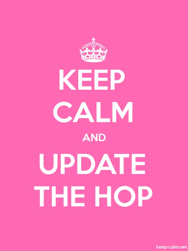 KEEP CALM AND UPDATE THE HOP - white/pink - Default (600x800)