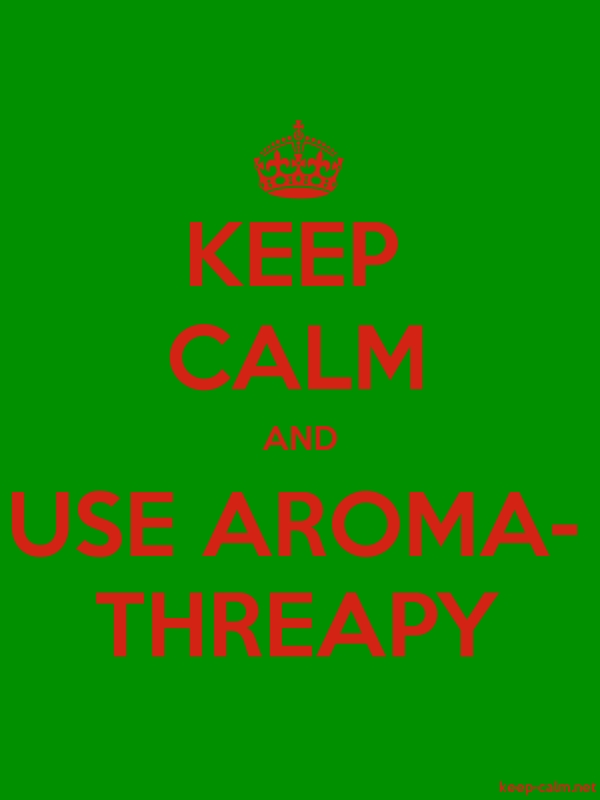 KEEP CALM AND USE AROMA- THREAPY - red/green - Default (600x800)