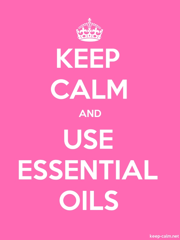 KEEP CALM AND USE ESSENTIAL OILS - white/pink - Default (600x800)