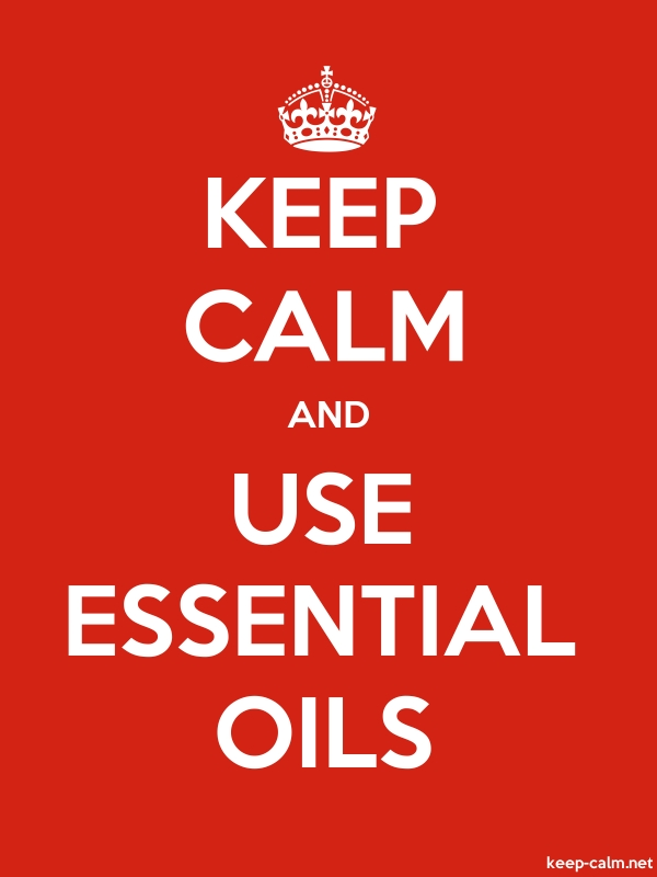 KEEP CALM AND USE ESSENTIAL OILS - white/red - Default (600x800)