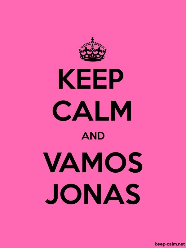 KEEP CALM AND VAMOS JONAS - black/pink - Default (600x800)