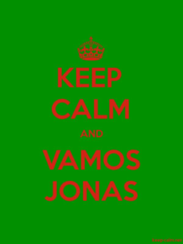 KEEP CALM AND VAMOS JONAS - red/green - Default (600x800)