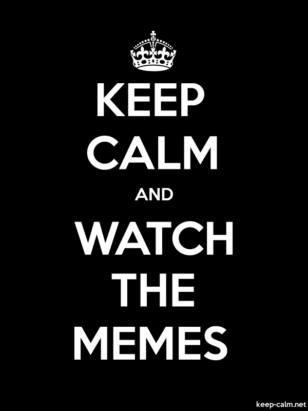 KEEP CALM AND WATCH THE MEMES - white/black - Default (600x800)